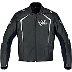 Alpinestars MotoGP Leather Jacket Black