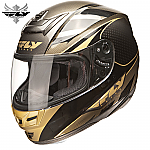 Fly Racing Paradigm Helmet Black / Gold