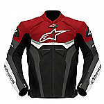 Alpinestars Celer Leather Jacket Black / Red / White