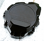 Woodcraft Suzuki Hayabusa, B King All Years LHS Stator Cover Black W/Gasket + Skid Plate Choice