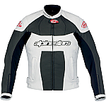 Alpinestars GP Plus Ladies Leather Jacket Black / White