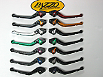 Pazzo Racing Dual Pivot Folding Levers for Kawasaki Motorcycles