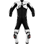 Alpinestars Atem 1 Piece Leather Suit Black / White