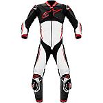 Alpinestars Atem 1 Piece Leather Suit Black / White / Red