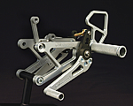 Woodcraft Yamaha YZF-R6 99-02 GP Shift, Complete Rearset Kit W/3 Piece Pedals