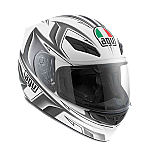AGV K4 EVO Arrow White Gunmetal