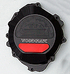 Woodcraft Honda CBR600RR 07+ LHS Stator Cover Black W/Skid Plate Choice (use semi-dry liquid gasket/160H)