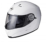Scorpion EXO-500 Helmet Solid White