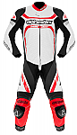 Alpinestars Motegi 1 Piece Suit White / Black / Red
