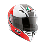AGV Skyline Block White Red